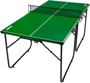 Franklin Sports Mid Size Space Saving Ping Pong Table