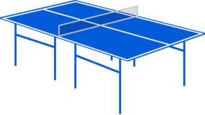 thickness of outdoor ping pong table
