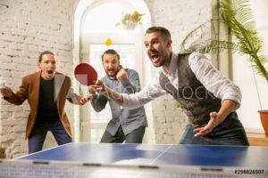 ping pong vs table tenns